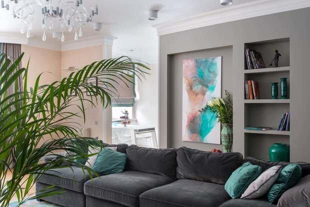 Фото из портфолио Двухуровневая квартира в Крылатском – фотографии дизайна интерьеров на INMYROOM