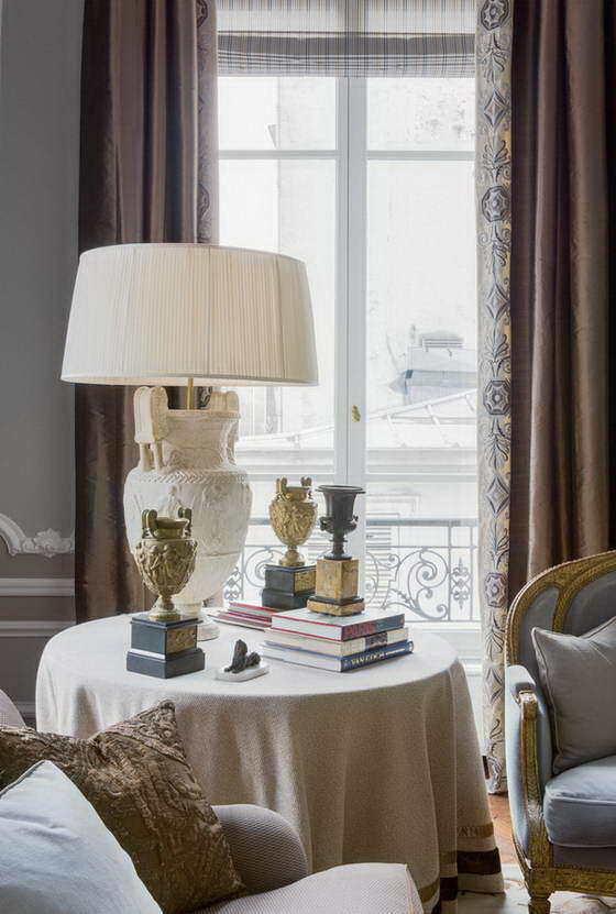 Фотография:  в стиле , Интервью, текстиль в интерьере, александрин перроден, французских интерьерный стиль – фото на InMyRoom.ru