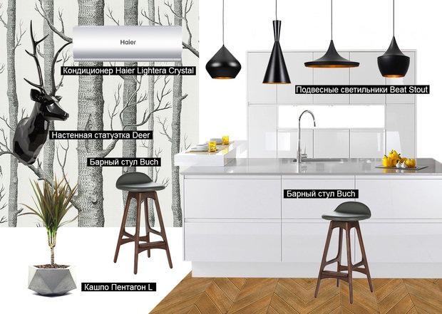 Фотография: Прихожая в стиле Прованс и Кантри, Кухня и столовая, Советы, Haier – фото на InMyRoom.ru