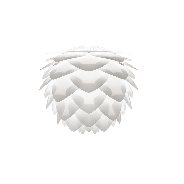Плафон Silvia white белого цвета