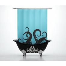 Штора для ванной: Щупальцы