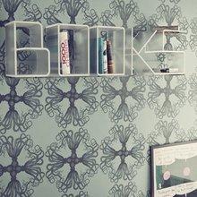Фотография: Декор в стиле Лофт, Современный, Декор интерьера, Мебель и свет, Домашняя библиотека – фото на InMyRoom.ru