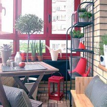 Фотография: Балкон в стиле Кантри, Квартира, Советы, Ремонт на практике, как покрасить пластиковое окно, пластиковое окно, пластиковые окна, декор пластикового окна – фото на InMyRoom.ru