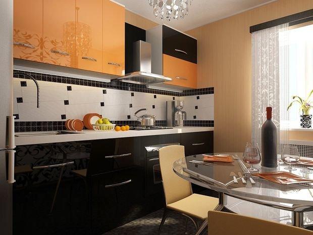 Фотография: Планировки в стиле , Кухня и столовая, Декор интерьера, Квартира, Дом, Декор, Оранжевый – фото на InMyRoom.ru