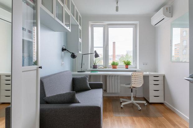 Фото из портфолио Квартира на Белорусской – фотографии дизайна интерьеров на INMYROOM