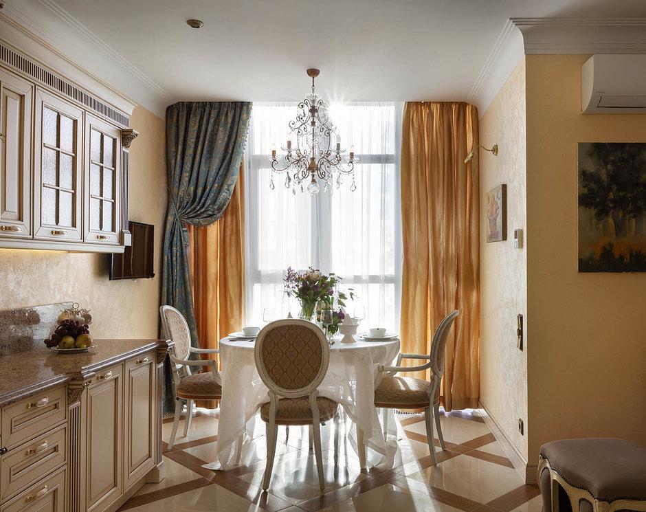 Фотография: Кухня и столовая в стиле Классический, Квартира, Проект недели – фото на InMyRoom.ru