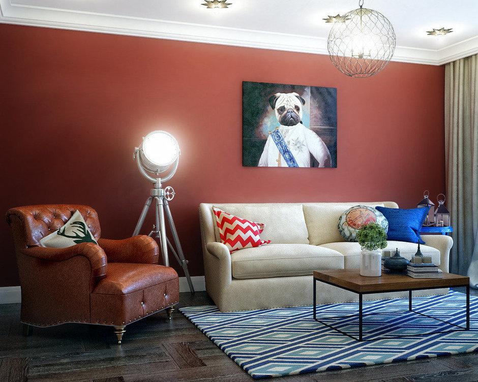 Фотография:  в стиле , Гостиная, Современный, Карта покупок, Мебель и свет, Мила Колпакова – фото на InMyRoom.ru