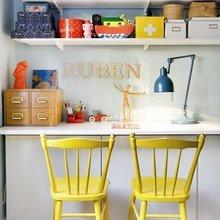 Фотография: Офис в стиле Кантри, Декор интерьера, Дизайн интерьера, Цвет в интерьере, Желтый – фото на InMyRoom.ru