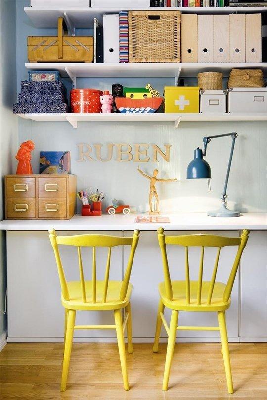 Фотография: Офис в стиле Прованс и Кантри, Декор интерьера, Дизайн интерьера, Цвет в интерьере, Желтый – фото на InMyRoom.ru