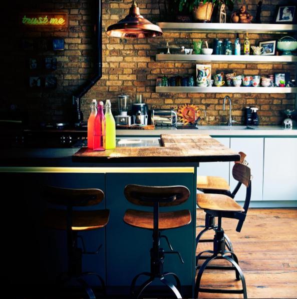 Фотография: Кухня и столовая в стиле Лофт, Интервью, Правила дизайна, Абигейл Ахерн – фото на INMYROOM
