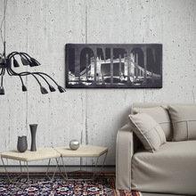 Фотография: Гостиная в стиле Лофт, Декор интерьера, Декор дома, Картина, Постеры – фото на InMyRoom.ru