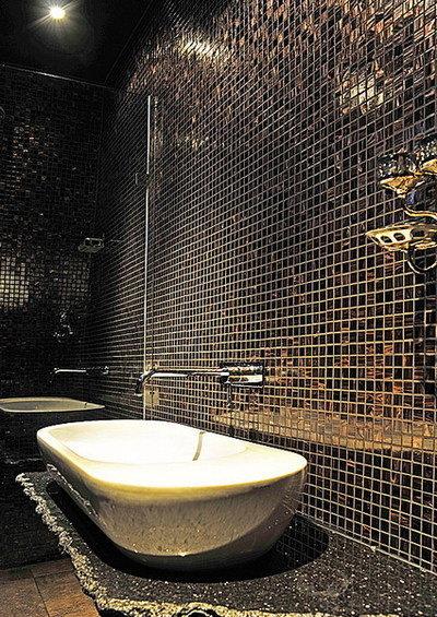 Фотография: Ванная в стиле Лофт, Современный, Дом, Дома и квартиры – фото на INMYROOM