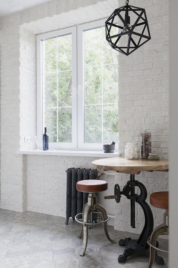 Фотография: Кухня и столовая в стиле Лофт, Советы, маленькая кухня, GeekBrains, как сделать кухню удобной, факультет дизайна, факультет дизайна жилых интерьеров – фото на INMYROOM