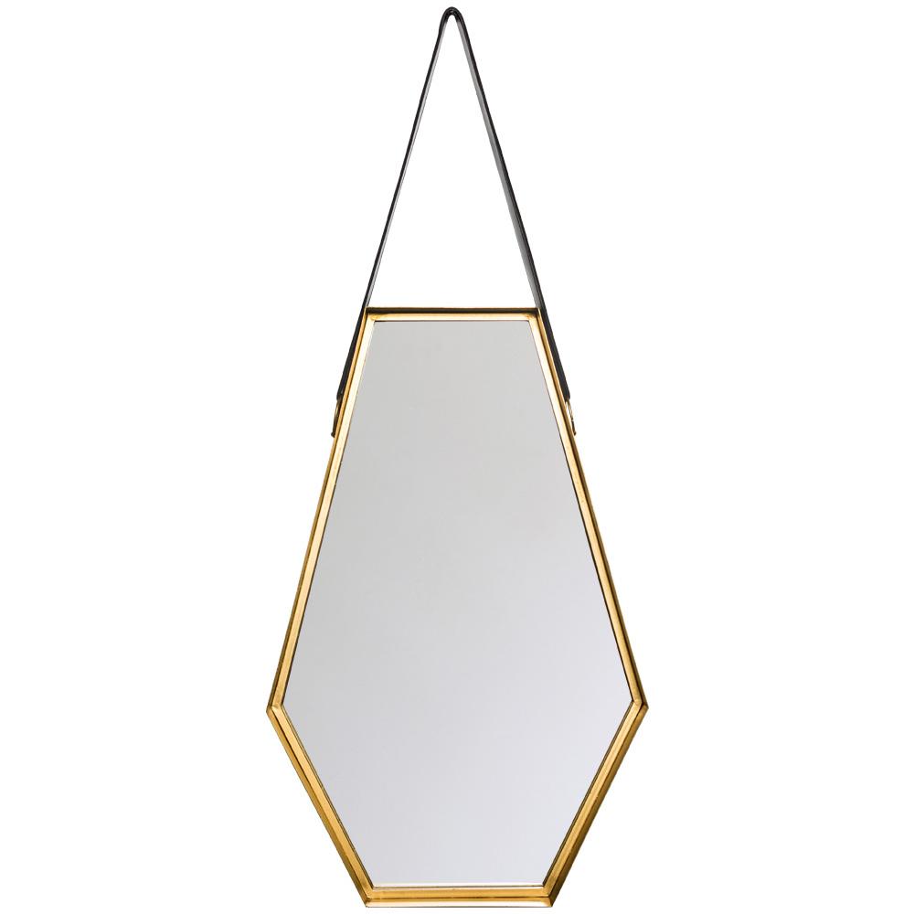 Купить Настенное зеркало диана на кожаном ремне, inmyroom, Россия