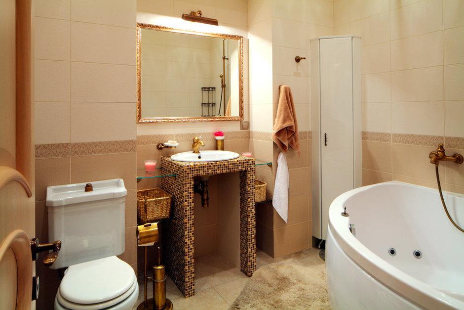 Фотография: Ванная в стиле Эклектика, Квартира, Дома и квартиры – фото на InMyRoom.ru