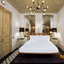 Фотография: Спальня в стиле Лофт, Декор интерьера, Декор дома, Плитка – фото на InMyRoom.ru