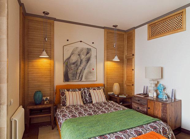 Фотография: Спальня в стиле Прованс и Кантри, Лофт, Декор интерьера, Квартира, Дома и квартиры, Илья Хомяков, Стена – фото на InMyRoom.ru
