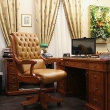 Фото из портфолио Классический кабинет в старом московском особняке – фотографии дизайна интерьеров на INMYROOM