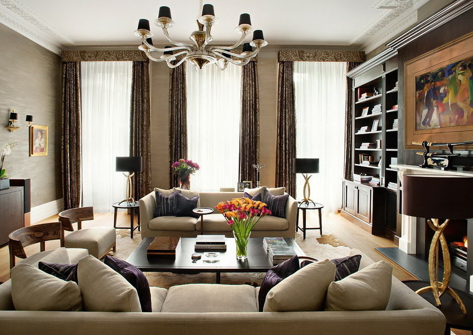 Фотография: Гостиная в стиле , Декор интерьера, Интерьер комнат – фото на InMyRoom.ru