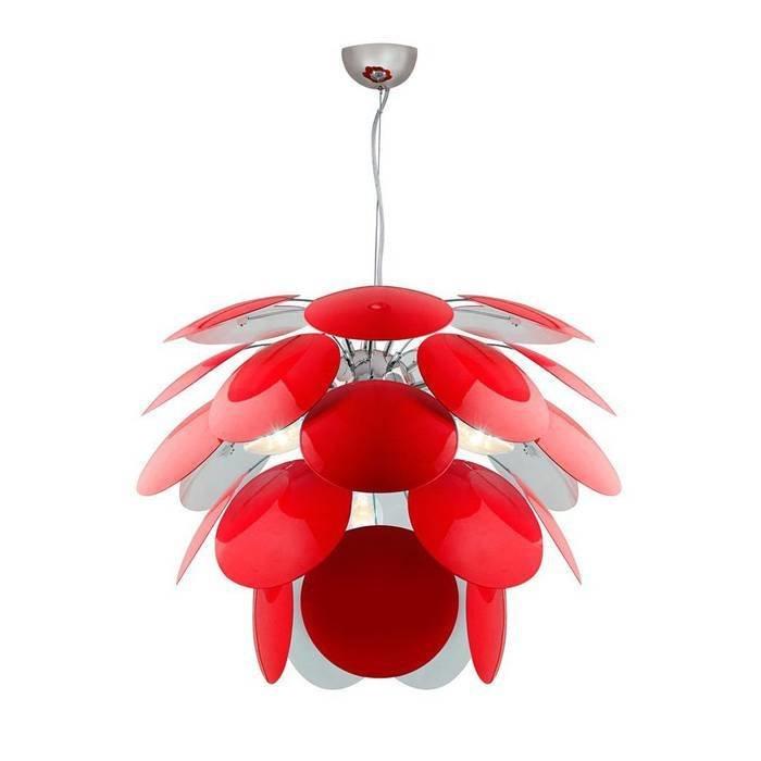 Подвесная люстра Luce Solara Moderno с декоративным плафоном