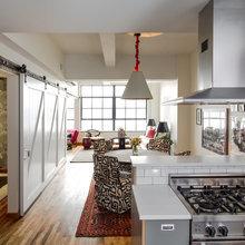 Фотография: Кухня и столовая в стиле Кантри, Современный, Эклектика, Лофт, Декор интерьера, Квартира, Дома и квартиры, Нью-Йорк – фото на InMyRoom.ru