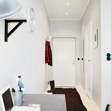 Фотография: Прихожая в стиле Скандинавский, Малогабаритная квартира, Квартира, Дома и квартиры, Гетеборг – фото на InMyRoom.ru