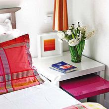 Фотография: Спальня в стиле Современный, Малогабаритная квартира, Квартира, Испания, Цвет в интерьере, Дома и квартиры, Белый – фото на InMyRoom.ru
