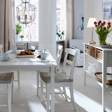Фотография: Кухня и столовая в стиле Скандинавский, DIY, Интерьер комнат, Обеденная зона – фото на InMyRoom.ru