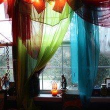 Фотография: Декор в стиле Восточный, Декор интерьера, Декор дома, Текстиль, Шторы – фото на InMyRoom.ru