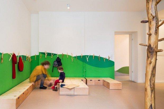 Фотография:  в стиле Современный, Детская, Интерьер комнат – фото на InMyRoom.ru