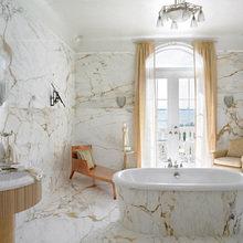 Фотография: Ванная в стиле Классический, Интерьер комнат, Декоративная штукатурка – фото на InMyRoom.ru