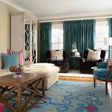 Фотография: Гостиная в стиле Кантри, Декор интерьера, Дом, Декор дома, Цвет в интерьере – фото на InMyRoom.ru