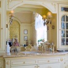 Фотография: Ванная в стиле Классический, Современный, Декор интерьера, МЭД, Мебель и свет, Краска – фото на InMyRoom.ru