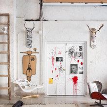 Фото из портфолио Дизайн с французскими акцентами, современным дизайном и цветами – фотографии дизайна интерьеров на InMyRoom.ru