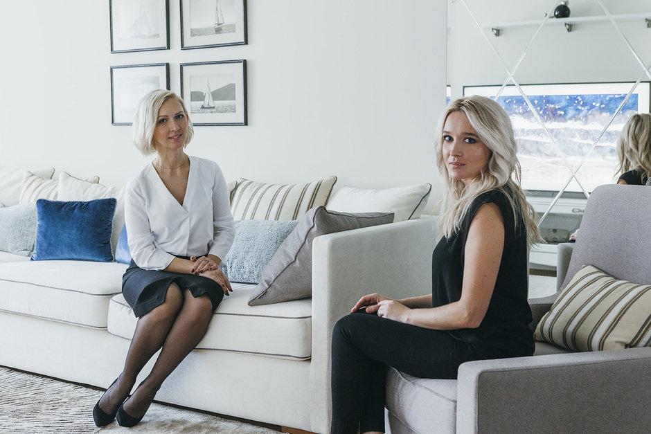Дизайнер Анна Симонова и главный редактор INMYROOM Ольга Лоптева.