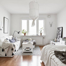 Фото из портфолио Белая квартира – фотографии дизайна интерьеров на InMyRoom.ru