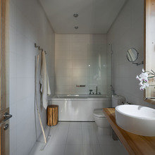 Фотография: Ванная в стиле Современный, Дом, Дома и квартиры, Проект недели, Эко – фото на InMyRoom.ru
