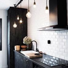 Фотография: Кухня и столовая в стиле Лофт, Скандинавский, Декор интерьера, Интерьер комнат, Плитка – фото на InMyRoom.ru