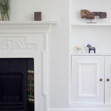 Фотография: Декор в стиле Скандинавский, Квартира, Цвет в интерьере, Дома и квартиры, Белый, Лондон, Лепнина – фото на InMyRoom.ru