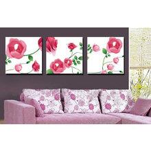 Модульная картина от дизайнера: Ситцевые розы
