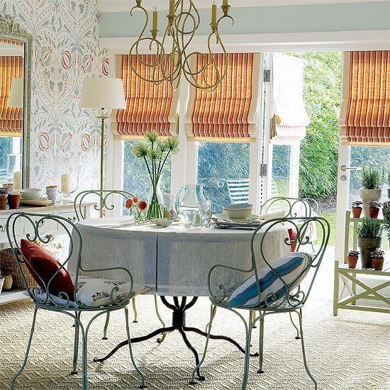 Фотография: Кухня и столовая в стиле Прованс и Кантри, Декор интерьера, DIY, Текстиль, Ремонт на практике – фото на InMyRoom.ru