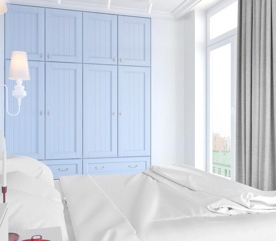 Фотография: Спальня в стиле Скандинавский, Современный, Квартира, Проект недели, Киев, Монолитный дом, 3 комнаты, 60-90 метров, Юлия Тринцукова – фото на InMyRoom.ru