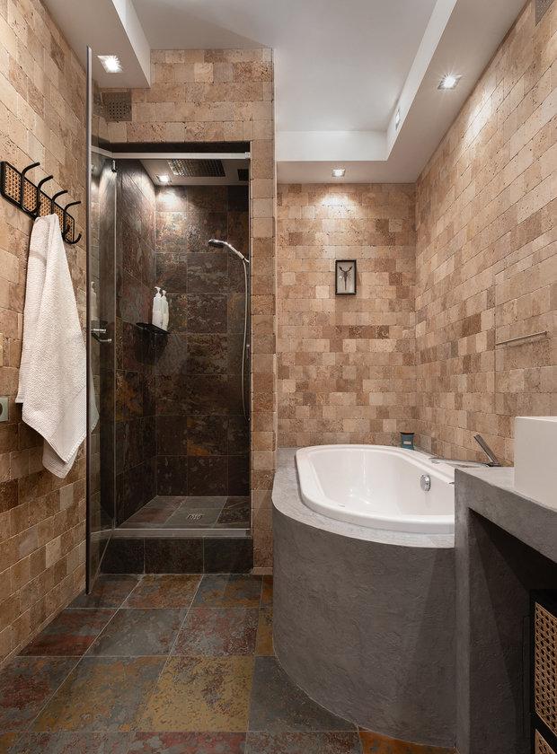 Фотография: Ванная в стиле Современный, Квартира, Проект недели, Москва, 3 комнаты, 60-90 метров, Анна Никитина – фото на INMYROOM