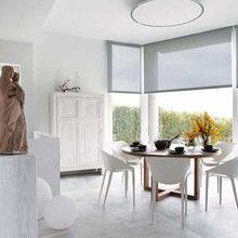 Фотография: Кухня и столовая в стиле Эклектика, Дом, Испания, Цвет в интерьере, Дома и квартиры, Белый – фото на InMyRoom.ru