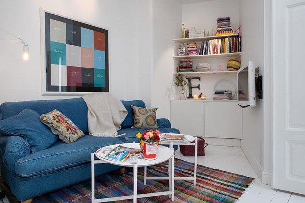 Фотография:  в стиле , Декор интерьера, Советы, съемная квартира – фото на InMyRoom.ru
