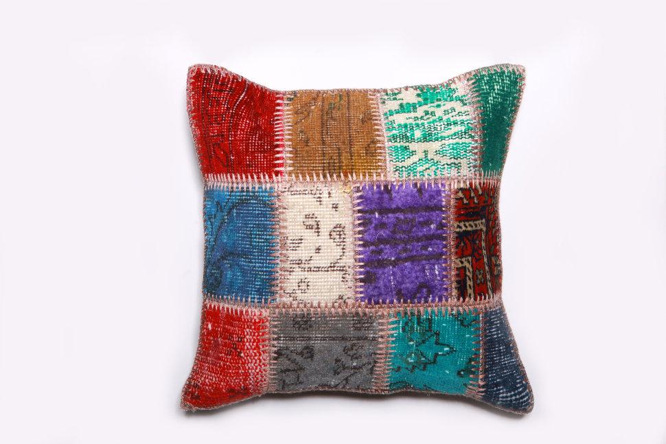 Подушка декоративная из шерсти 45х45, inmyroom  - Купить