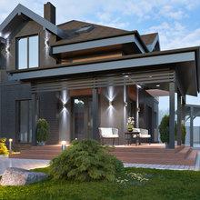 Фото из портфолио Архитектурный проект дома  – фотографии дизайна интерьеров на INMYROOM