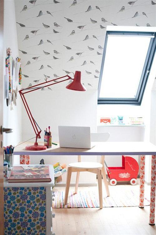 Фотография: Детская в стиле Современный, Дом, Чердак, Мансарда – фото на InMyRoom.ru