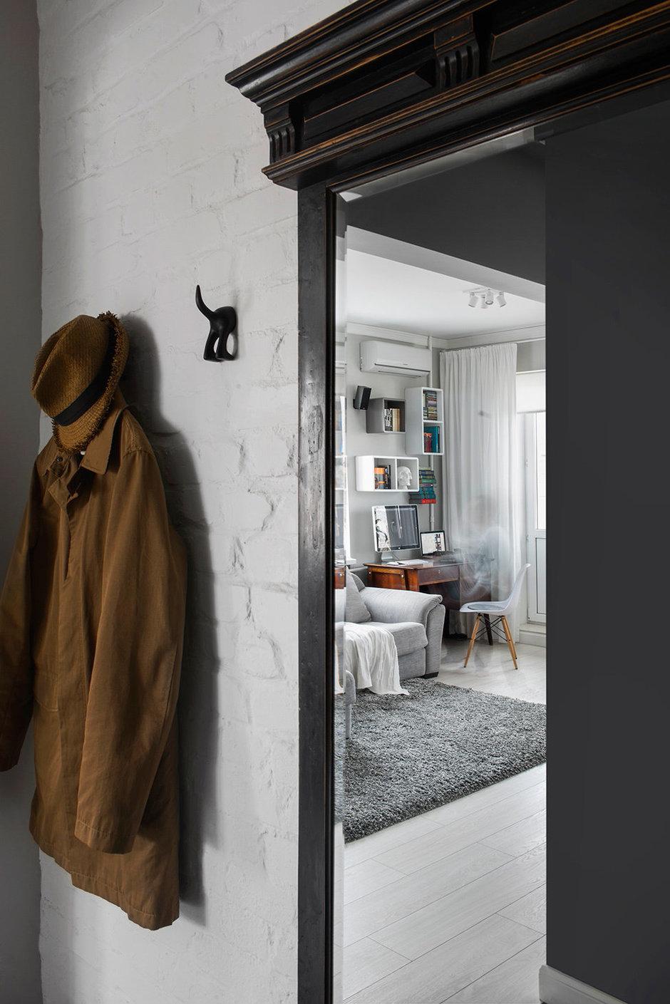 Фотография: Прихожая в стиле Скандинавский, Малогабаритная квартира, Квартира, Дома и квартиры, IKEA, Проект недели, Хрущевка – фото на InMyRoom.ru