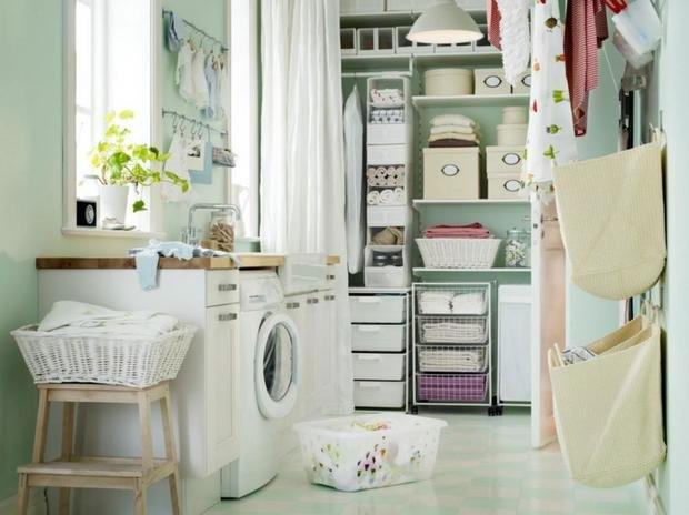 Фотография: Ванная в стиле Современный, Советы, постирочная в квартире – фото на InMyRoom.ru